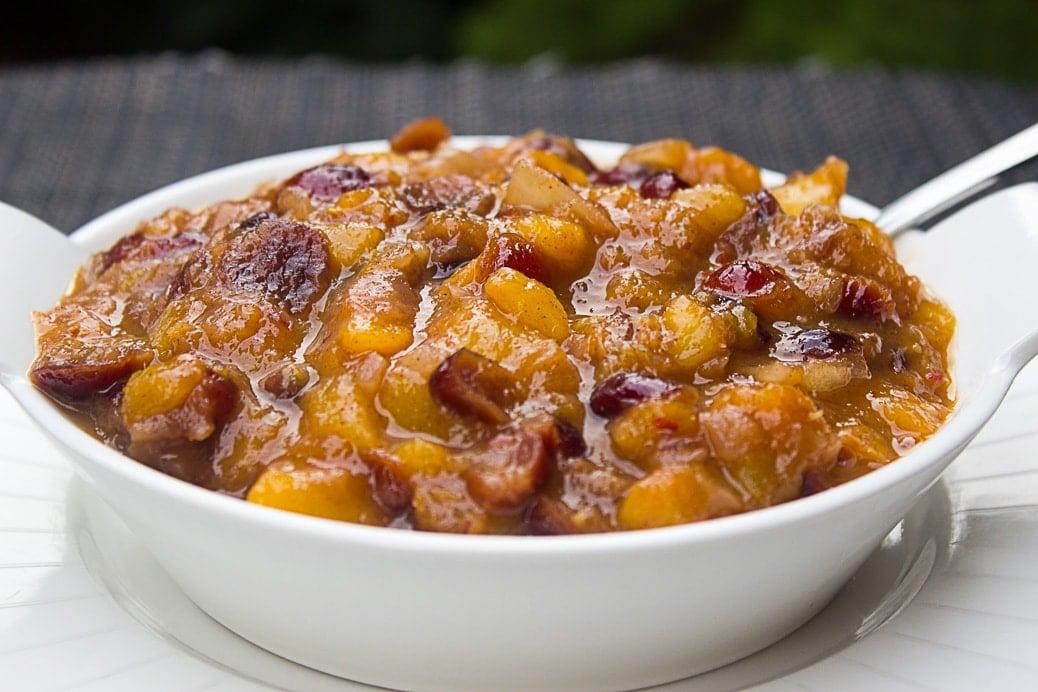 Peach Chutney (30 minutes)