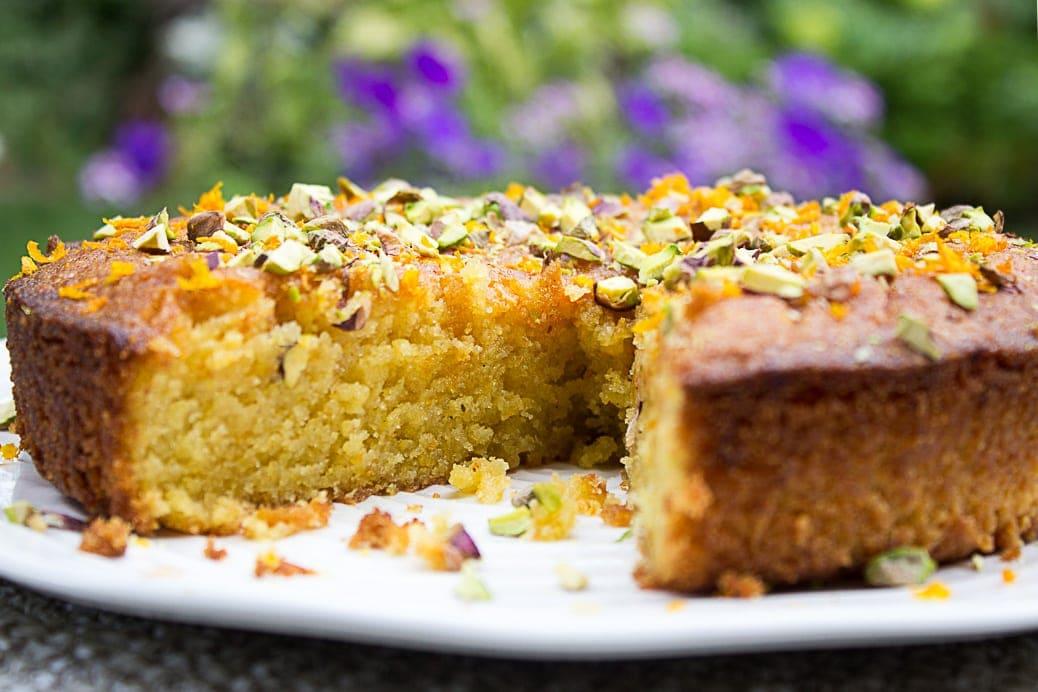 Orange Polenta Cake (gluten free)