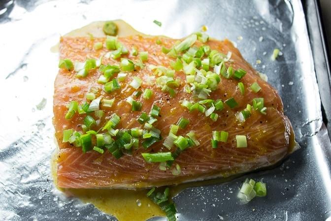 Citrus-Maple Glazed Salmon