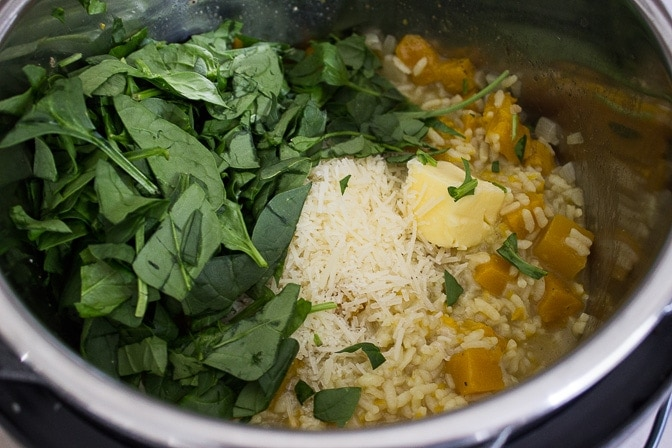 Pumpkin Risotto (Instant Pot)