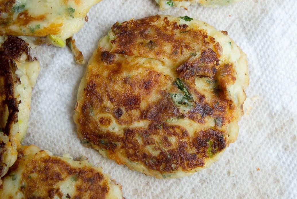 Mashed Potato Pancakes (Latkes)