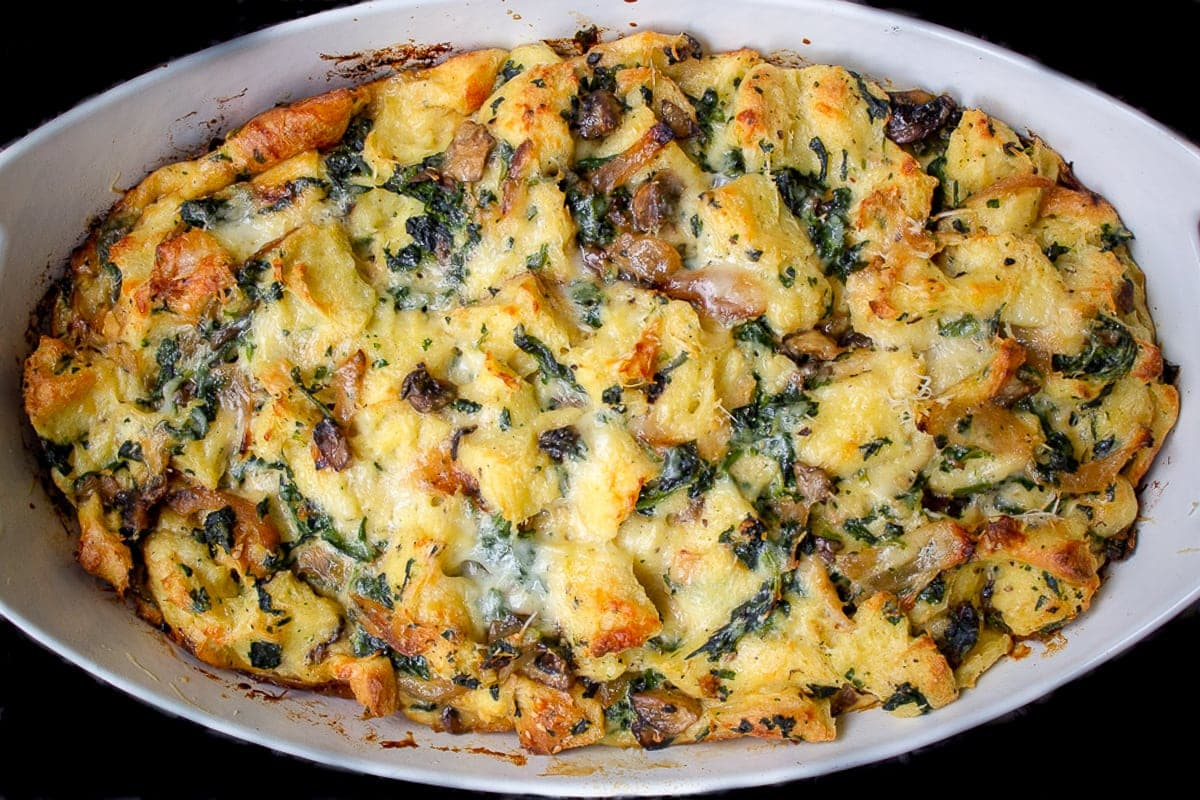 Breakfast Strata (with fillings you choose)