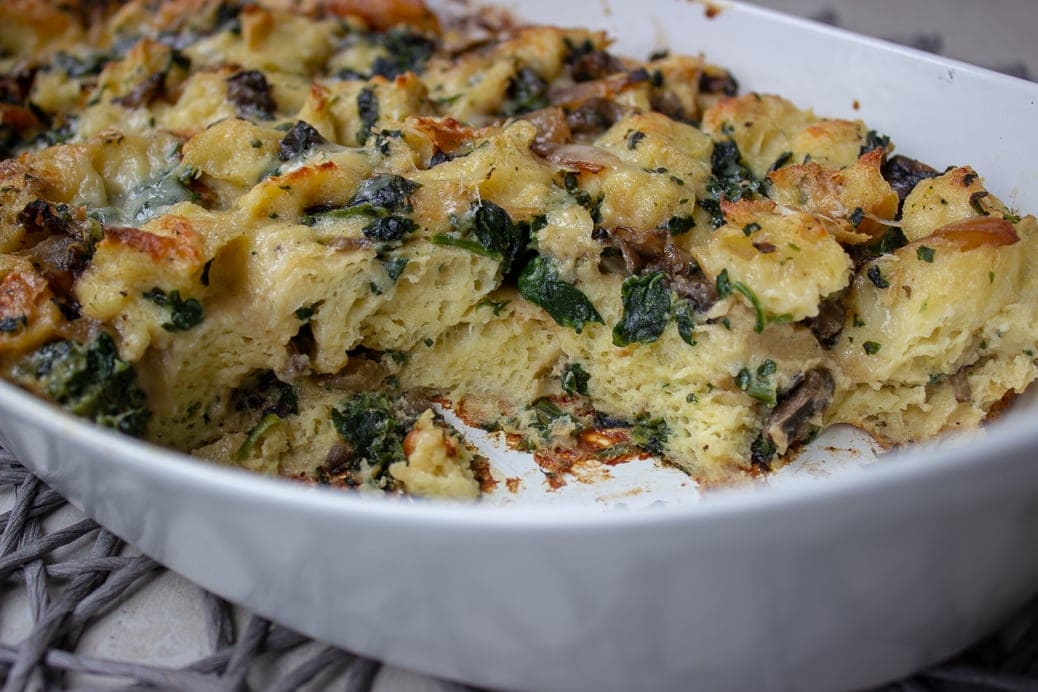Make-ahead Brunch Strata