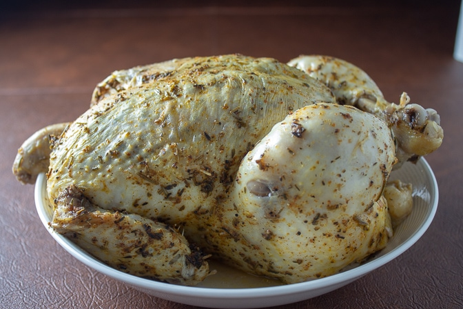 Instant Pot Whole Roast Chicken and Gravy