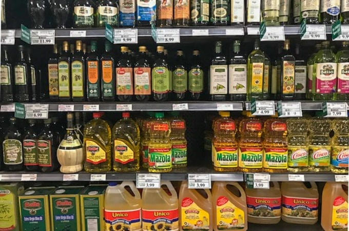 Cooking Oils: The Bare Essentials