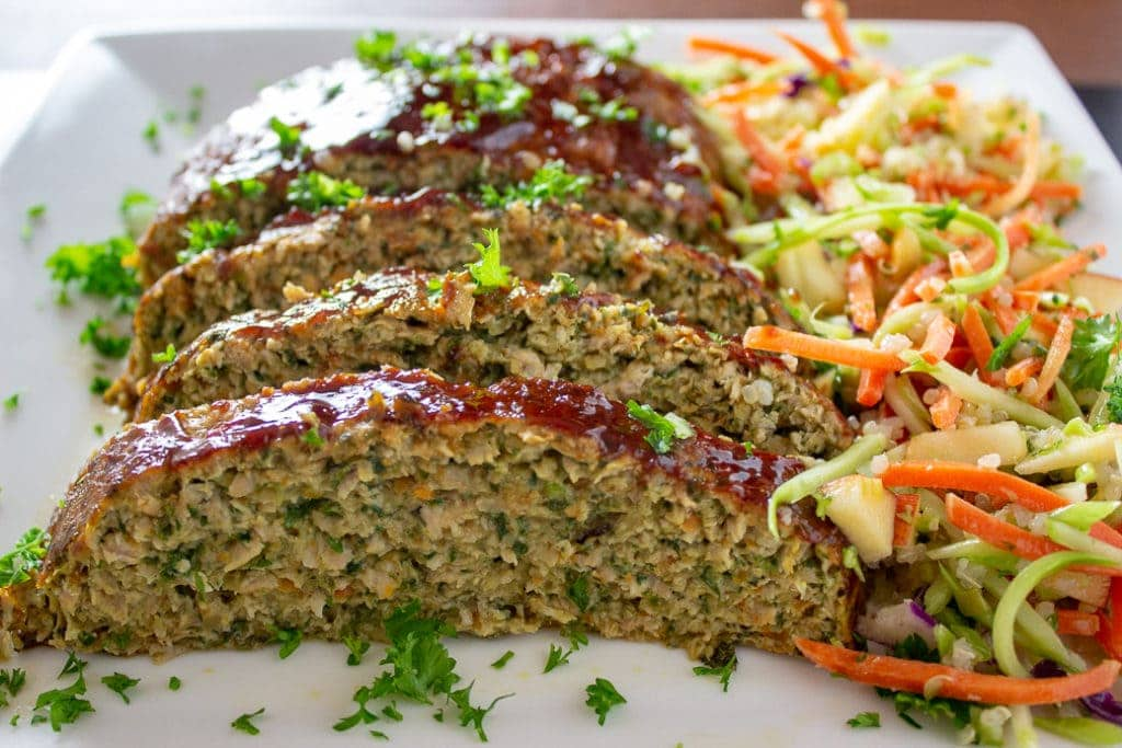 Chicken Meatloaf with Vegetables