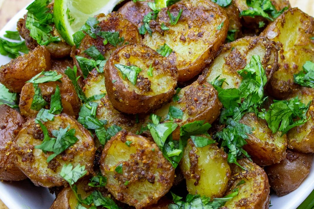 Indian Potatoes close up