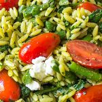 pesto orzo and vegetables p4