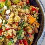 vegetable quinoa stuffing