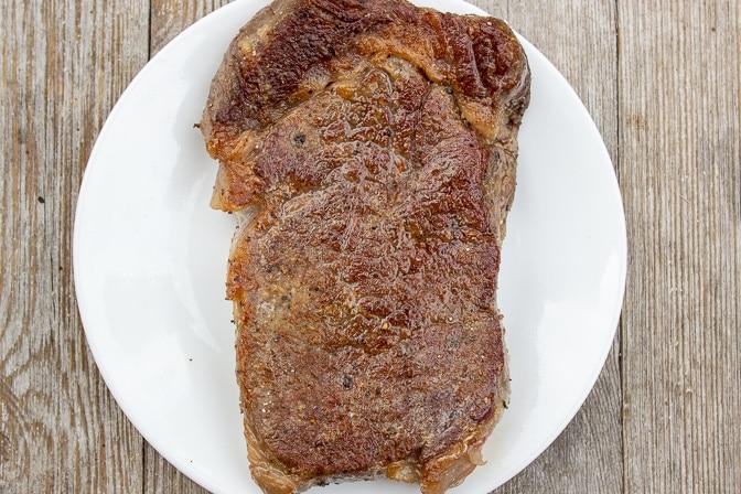 sous vide steak pan fried