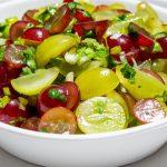 grape salsa in bowl f