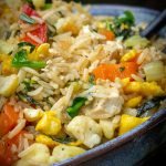 Chinese vegetable fried rice in a bowl p2
