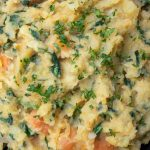 root vegetable mash in a bowl p1