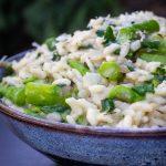 bowl of Lemon Asparagus Risotto p3