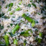 bowl of Lemon Asparagus Risotto p2