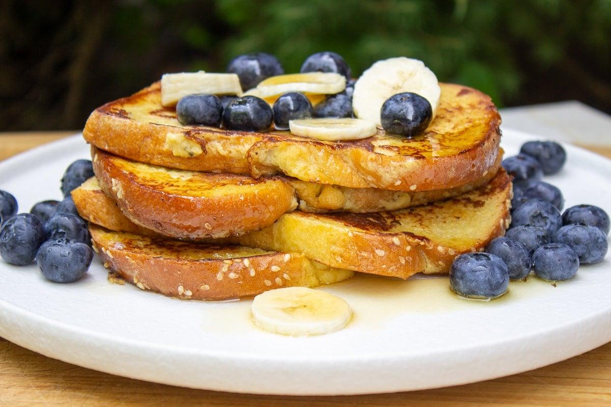 Simple Banana French Toast