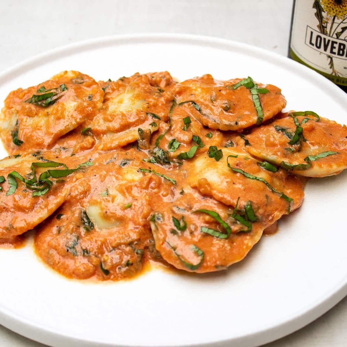 Pink Sauce Pasta Recipe (15 min)