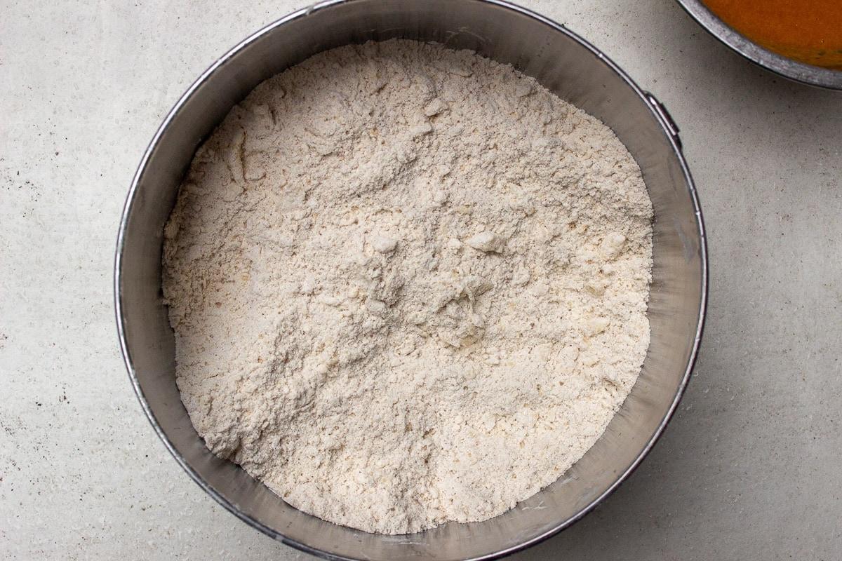butter flour mixture in bowl