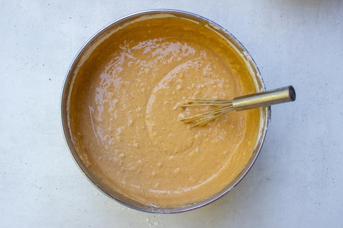 pumpkin pancakes batter